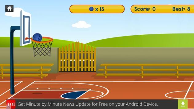 Basket Fire apk screenshot