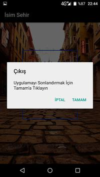 İsimŞehir apk screenshot