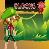 Bloons Stickman Adventure Games World icon