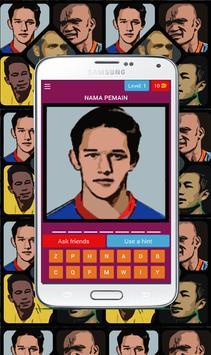 Tebak pemain bola Indonesia poster