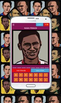 Tebak pemain bola Indonesia screenshot 4