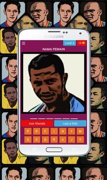 Tebak pemain bola Indonesia screenshot 5