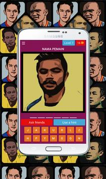 Tebak pemain bola Indonesia screenshot 6