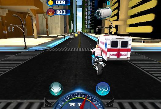 Racing Moto 2015 3D screenshot 3
