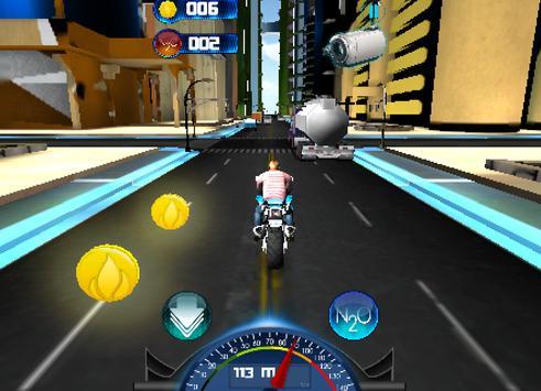 Racing Moto 2015 3D screenshot 1