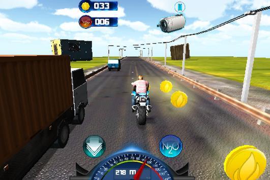 Racing Moto 2015 3D screenshot 2