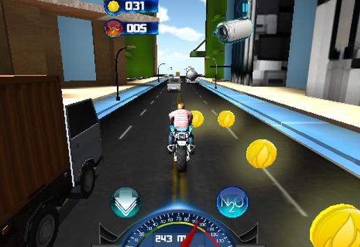 Racing Moto 2015 3D screenshot 4