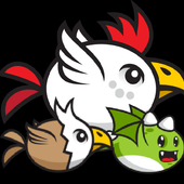 Chicken Fly Funny icon