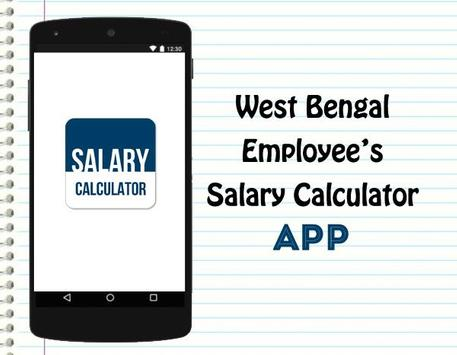 Salary Calculator-WB Employee poster