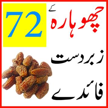 choharay k fawaid in urdu poster