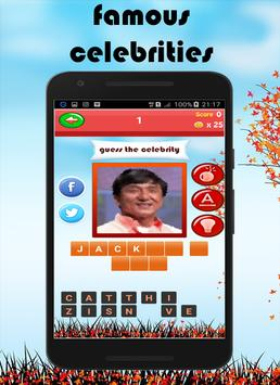 Celebrity Quiz 2017 screenshot 10