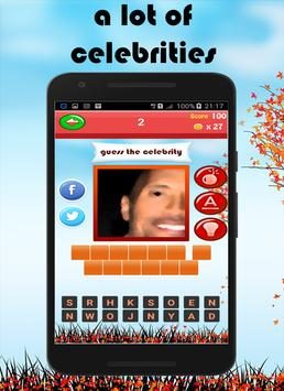 Celebrity Quiz 2017 screenshot 12