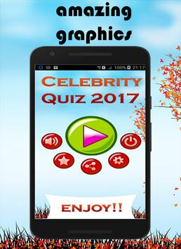 Celebrity Quiz 2017 screenshot 1