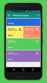 Cleaner And File Manager for WhatsApp Messenger apk screenshot