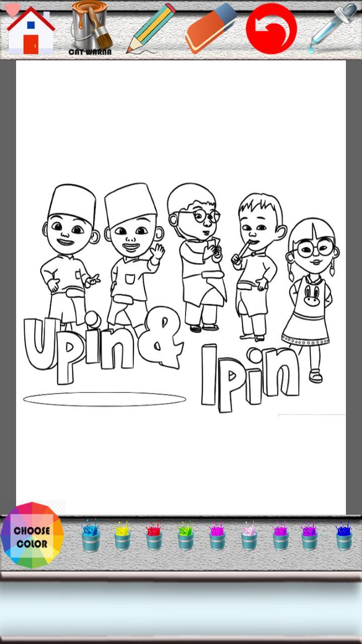 Upin Ipin Game Mewarnai For Android APK Download