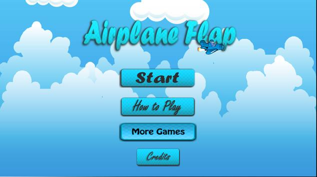 Airplane Flap poster