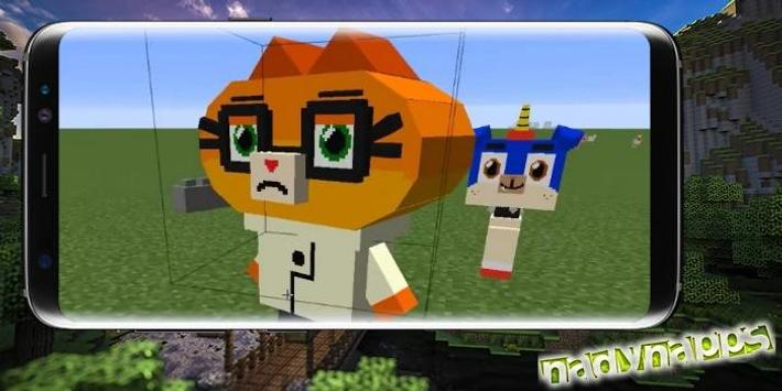 Unikitty's Minecraft Adventure Mod for Android - APK Download