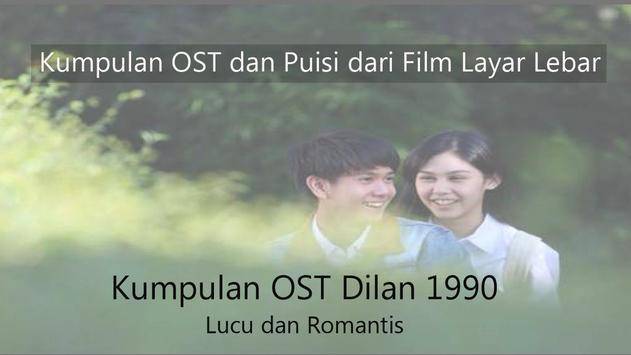 OST Dilan 1990 : Rindu itu berat poster