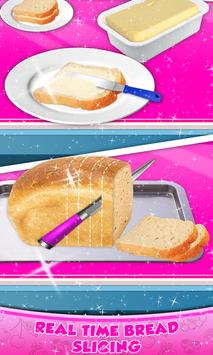 Rainbow Grilled Cheese Sandwich Maker! DIY cooking screenshot 2