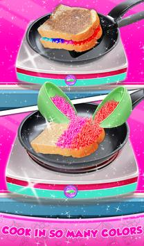 Rainbow Grilled Cheese Sandwich Maker! DIY cooking screenshot 8
