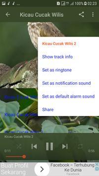 Kicau Cucak Wilis New screenshot 3