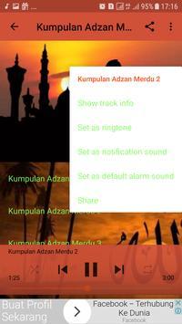 Kumpulan Adzan Termerdu Offline screenshot 3