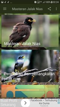 Masteran Jalak Nias New apk screenshot