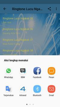 Ringtone Lucu Ngakak apk screenshot
