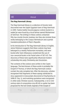 Nag Hammadi Library - Free apk screenshot