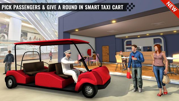 Shopping Mall Smart Taxi: Family Car Taxi Games poster