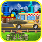 STREET FOOD TRUCK RESTAURANT icon