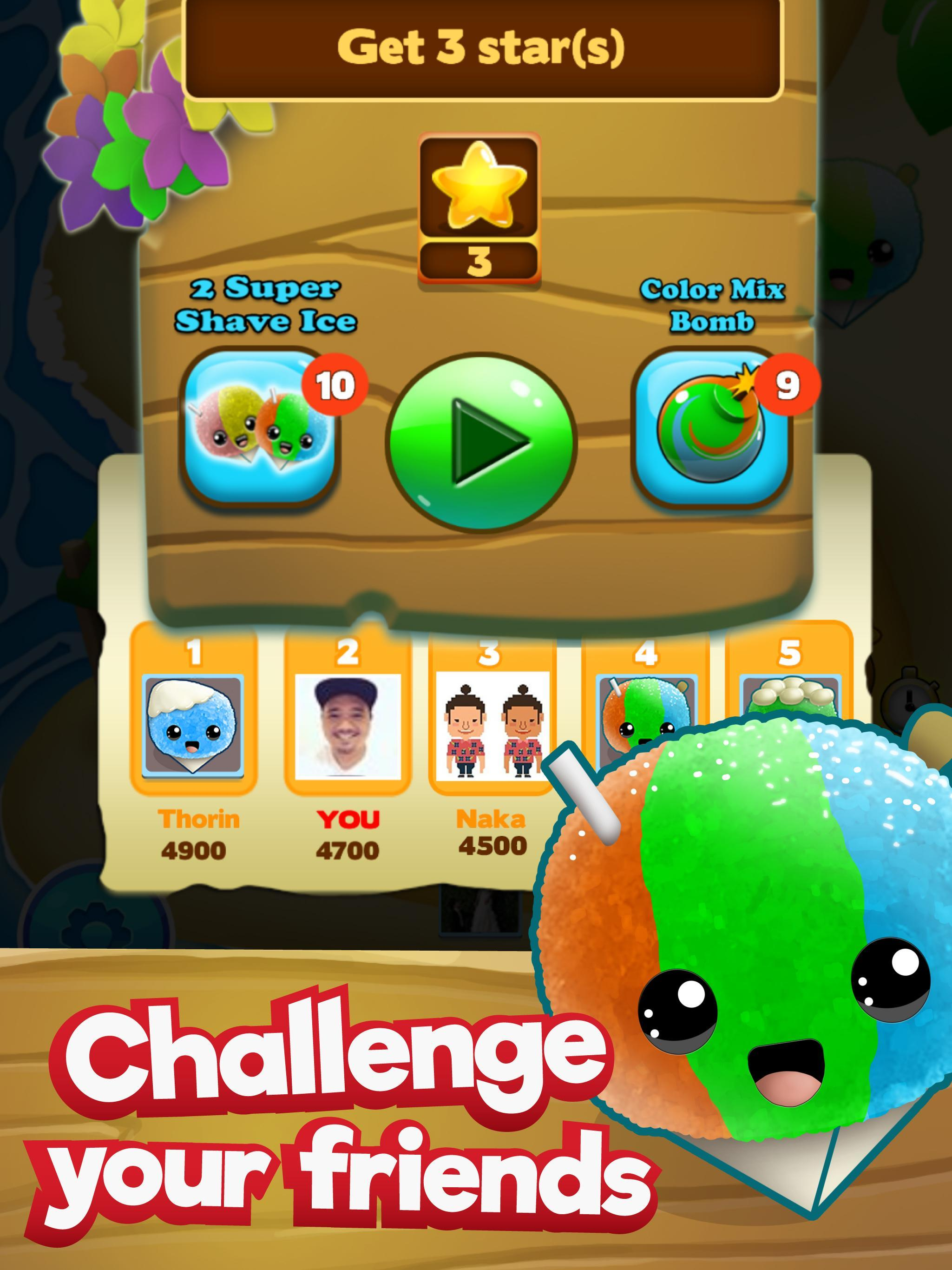 Aloha Shaved Ice - Hawaii Snow Cone Match 3 Game for Android