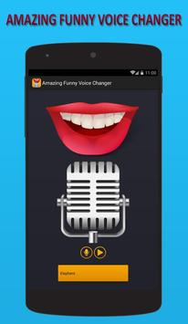 Amazing Funny Voice Changer poster