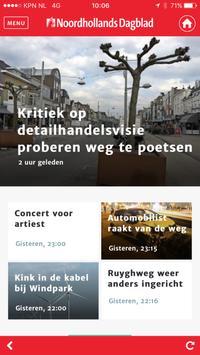 Noordhollands Dagblad poster