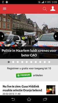 Haarlems Dagblad poster