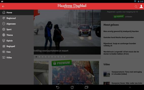 Haarlems Dagblad apk screenshot