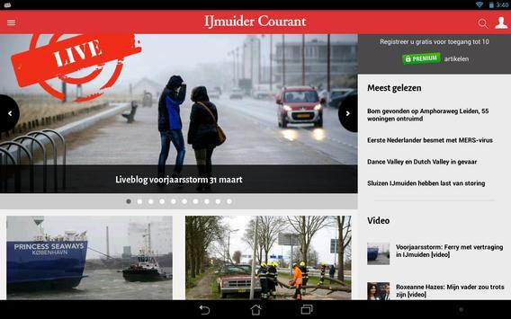 IJmuider Courant apk screenshot