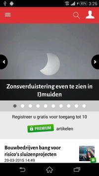 IJmuider Courant poster