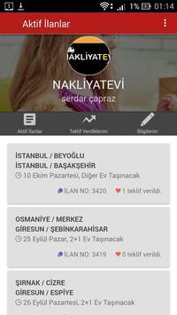 Nakliyatevi screenshot 1