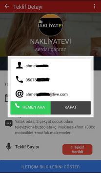 Nakliyatevi screenshot 3