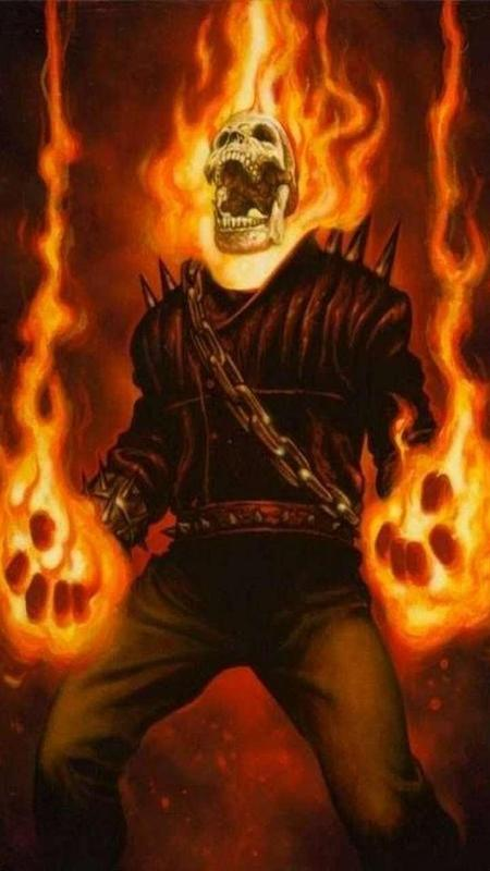 Ghost Rider HD Wallpaper Lock Screen poster ...