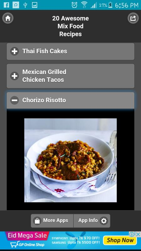 20 awesome mix food recipes descarga apk gratis comer y beber 20 awesome mix food recipes captura de pantalla de la apk forumfinder Image collections