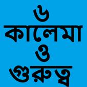 ৬ কালেমা ও এর গুরুত্ব icon