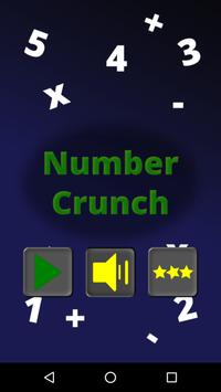 Number Crunch poster