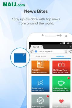 Naij Browser apk screenshot