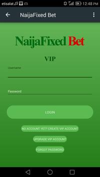 NaijaFixed Bet apk screenshot