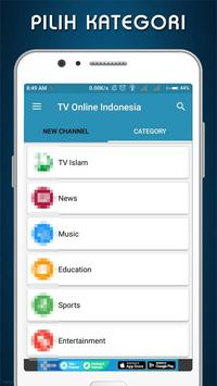 TiVi Online Indonesia Streaming Live apk screenshot