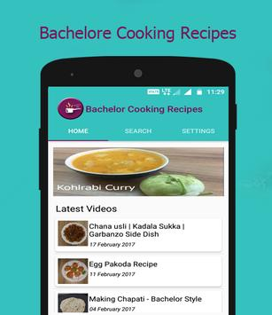 Bachelor Cooking Recipes poster