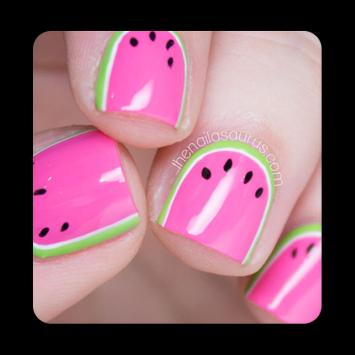 100+ Cute Watermelon Nail Art poster