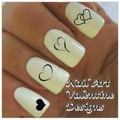 Nail Art Valentine Designs icon